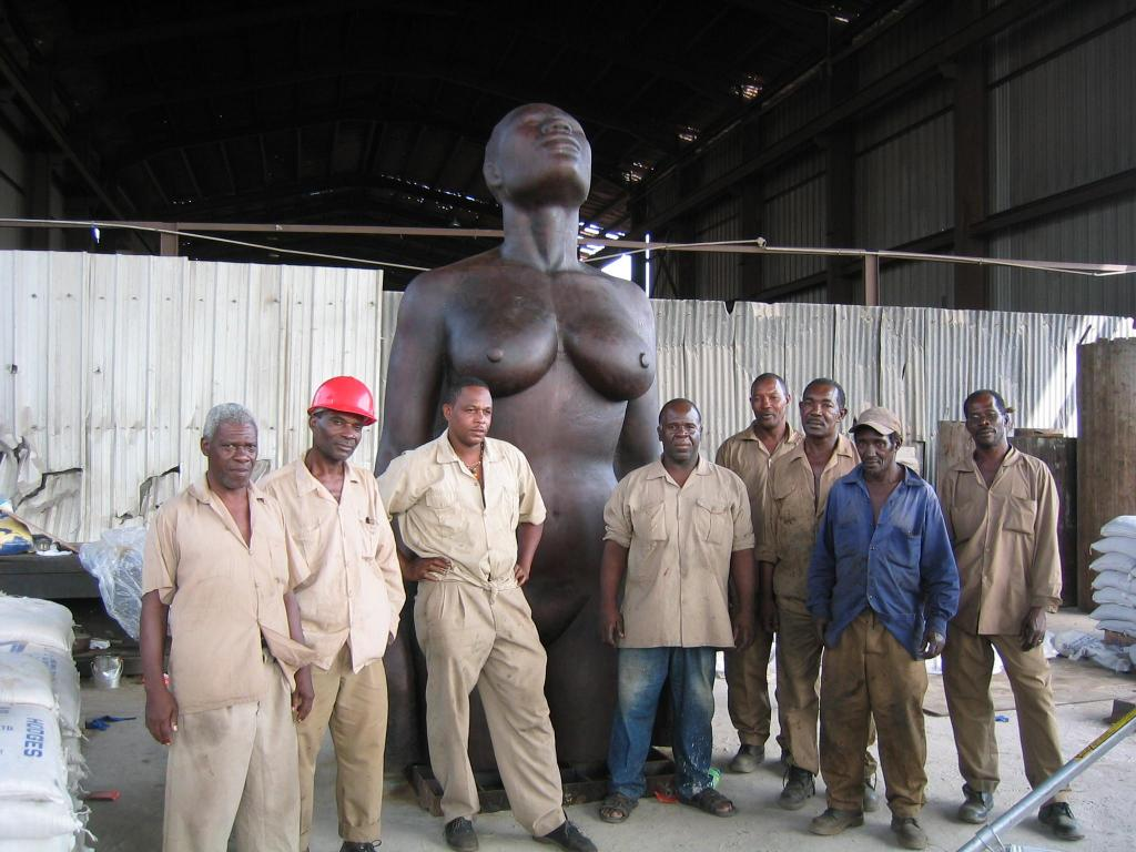 The men who helped to cast REDEMPTION SONG